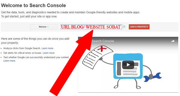 cara cepat membuat google webmaster tools