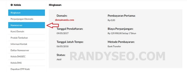 Cara Setting Domain Blogspot Ke Costum Domain