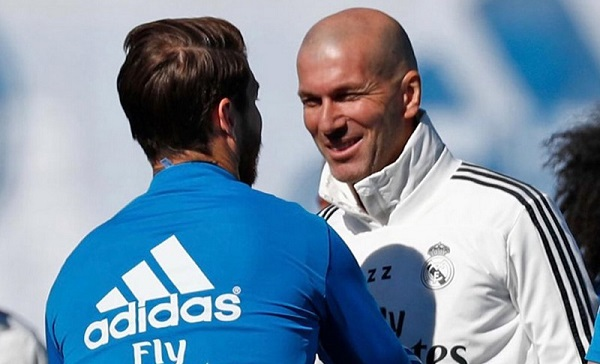Zidane Resmi Kembali Menjadi Pelatih Real Madrid