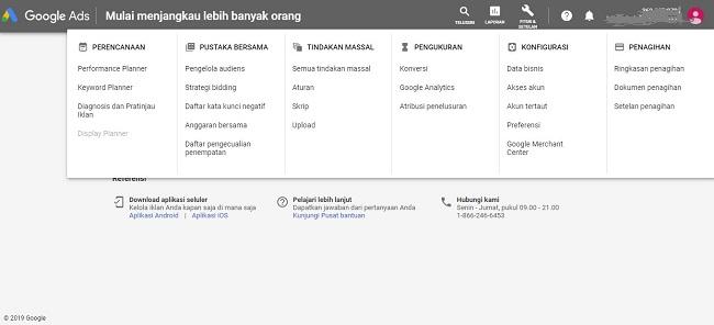 cara mencari keyword penting melalui google keyword planner adword