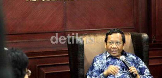 Mahfud MD Sindir PKB Bisa Capreskan Jokowi