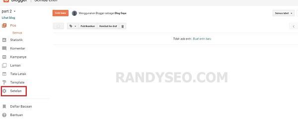 Cara Setting Domain Blogspot Ke Costum Domain