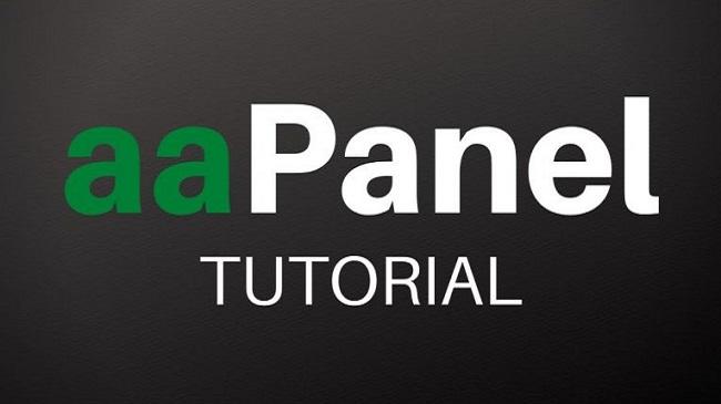 aapanel linux script reference terlengkap